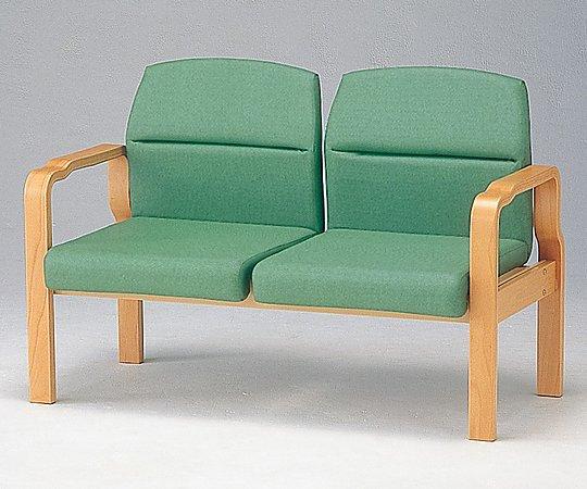 【送料無料】【ナビス】 待合椅子 HRM-250-V グリーン 【大型品】
