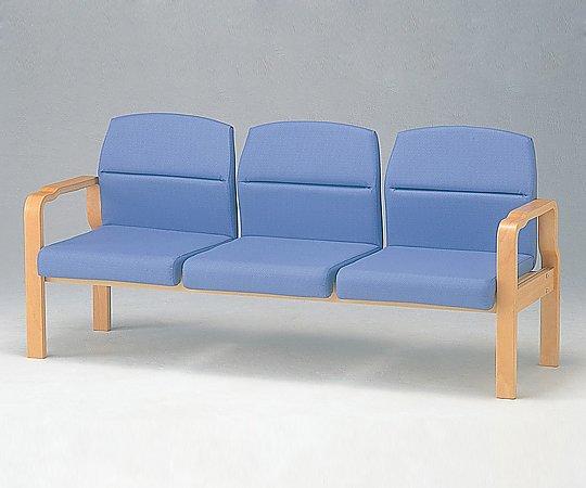 【送料無料】【ナビス】 待合椅子 HRM-350-V グリーン 【大型品】【02P06Aug16】