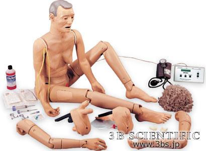 【送料無料】【無料健康相談付】世界基準 3Bサイエンフィティック社老人看護シミュレーターIII