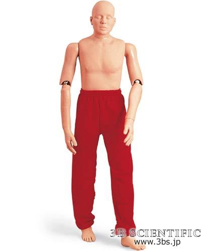 【送料無料】【無料健康相談 対象製品】世界基準 3Bサイエンフィティック社レスキューマネキン 165cm/25kg