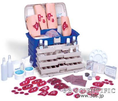 【送料無料】【無料健康相談 対象製品】世界基準 3Bサイエンフィティック社外傷シミュレーションキット3