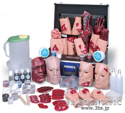 【送料無料】【無料健康相談 対象製品】世界基準 3Bサイエンフィティック社外傷シミュレーションキット4