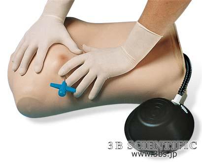 【送料無料】【無料健康相談 対象製品】世界基準 3Bサイエンフィティック社気胸トレーニングマネキン