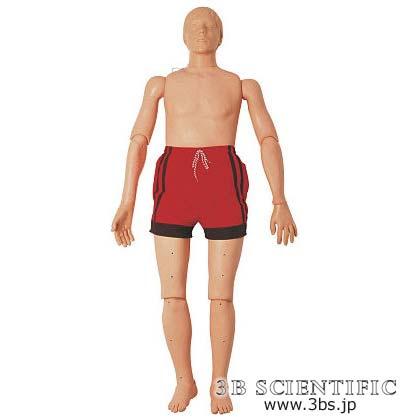 【送料無料】【無料健康相談 対象製品】世界基準 3Bサイエンフィティック社成人水難救助・CPRマネキン 163cm