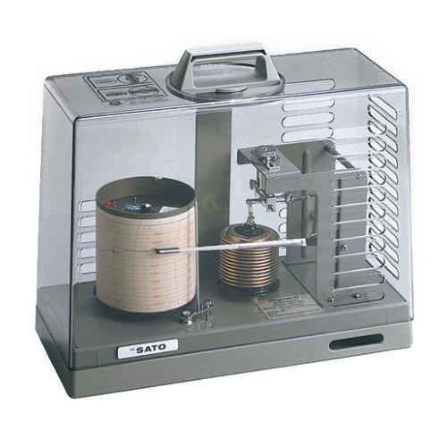 気圧記録計シグマII型気圧計 【アズワン】