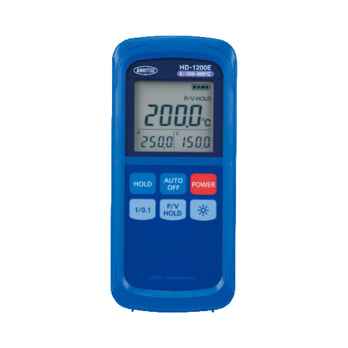 ハンディタイプ温度計 HD-1200E 【アズワン】