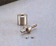 ハンドプレス 10mmアダプター 【アズワン】