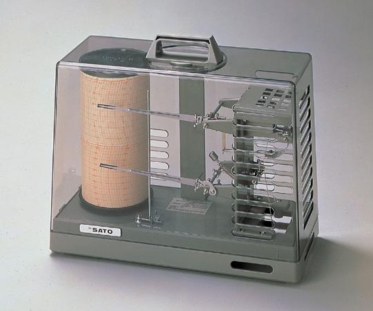 温湿度記録計 NSII-S(手巻式) 【アズワン】
