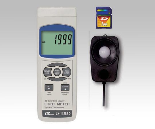 データロガー照度計 LX-1128SD 【アズワン】【02P06Aug16】