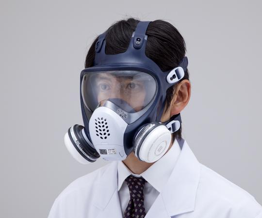 防毒マスク GM185-1 【アズワン】