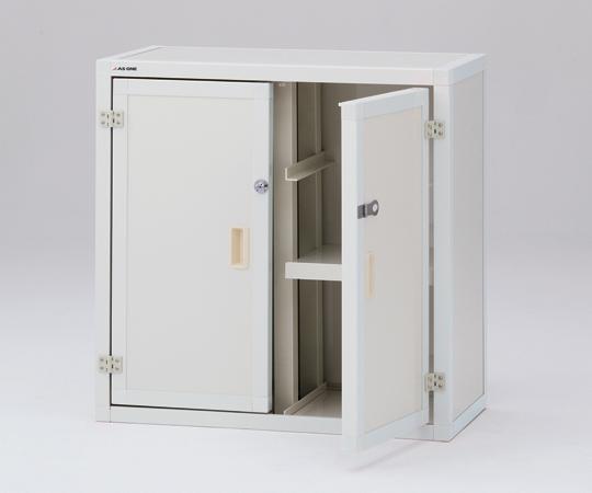 ユニット型塩ビ薬品庫(上段)UK900V 【アズワン】