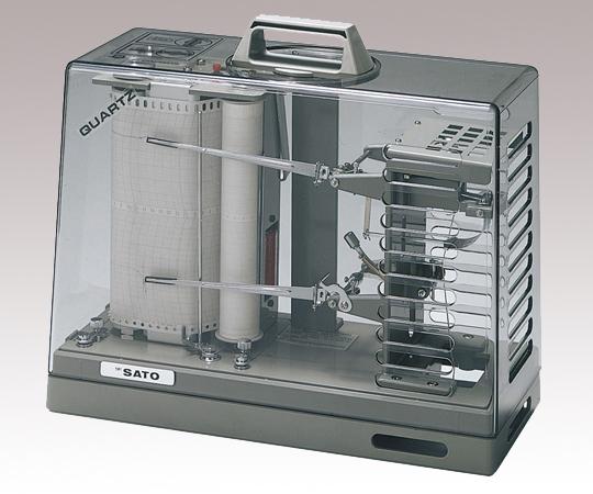 温湿度記録計オーロラ90III型温湿度記録計 【アズワン】【02P06Aug16】