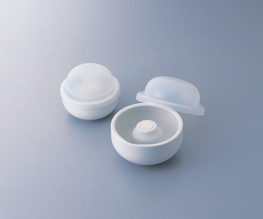 中容量マグネット乳鉢セット 130g磁製 【アズワン】