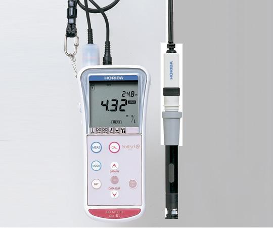 ハンディタイプ溶存酸素計OM-51-L1 【アズワン】