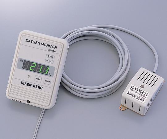 小型酸素モニター OX-500-05 【アズワン】【02P06Aug16】