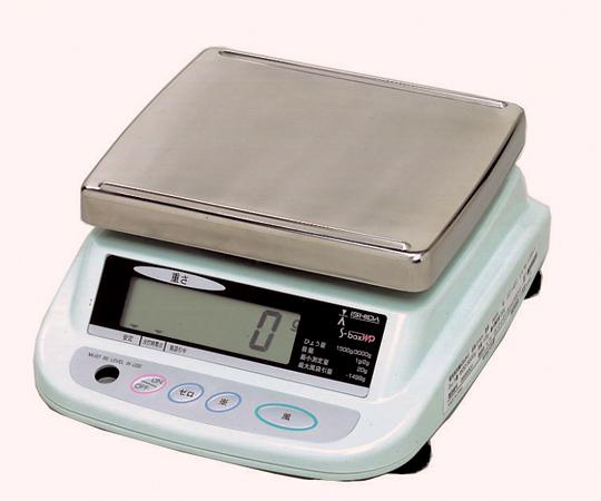 上皿型重量はかり S-box WP3kg 【アズワン】