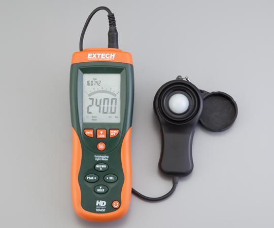 データーロガー付照度計 HD450 【アズワン】