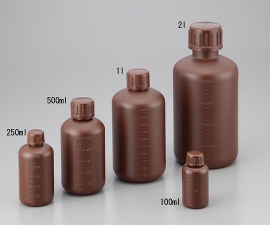 アズワン理化学製品も全て当店にて購入可能となりました 細口丸型遮光瓶500ml お歳暮 贈与 アズワン 茶