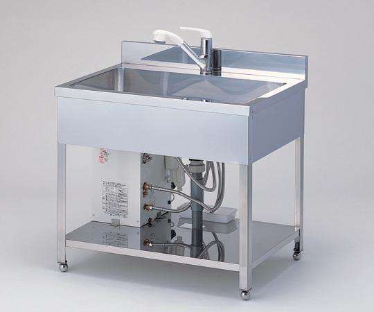 流し台(電気温水器付)XJ1200セット 送料別途見積 【アズワン】