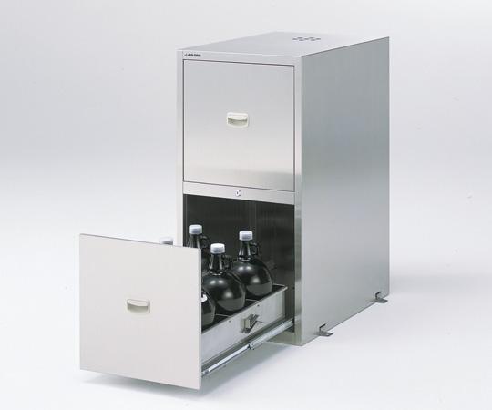 耐震ステンレス薬品庫 WG-945S4 【アズワン】
