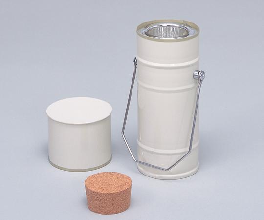 デュワー瓶 円筒型 300mL 【アズワン】