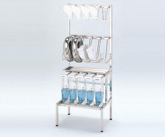 【無料健康相談 対象製品】【ナビス】貯尿便尿器掛台 II[本体] ステンレス