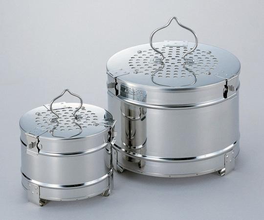 【無料健康相談 対象製品】【ナビス】フィルター式ガーゼ缶丸型 270