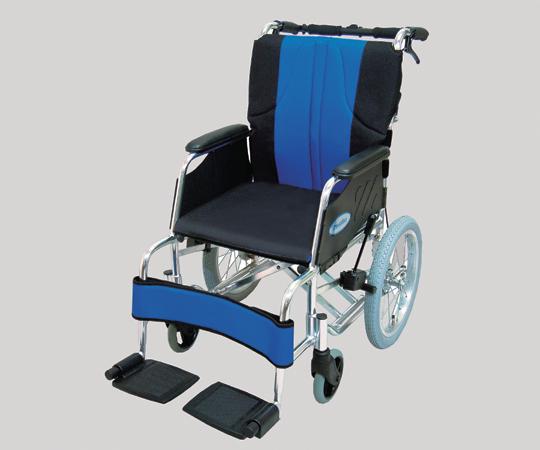 【無料健康相談 対象製品】【ナビス】車椅子 0102-LA6001青黒