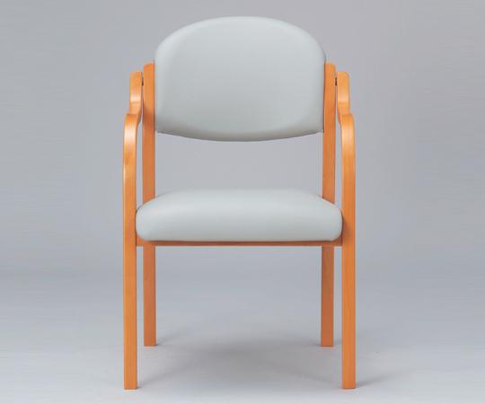 【送料無料】【ナビス】 木製椅子 MW-320LGRグレー 【大型品】【02P06Aug16】