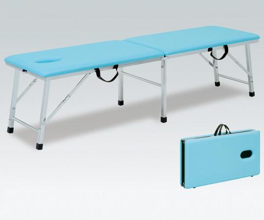 【無料健康相談 対象製品】【ナビス】折り畳み診察台TB1008U60 グレー