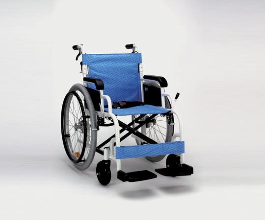 【無料健康相談 対象製品】【ナビス】アルミ製車椅子(自走) FK-255B