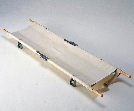 【無料健康相談 対象製品】【ナビス】四ツ折担架アルミ製 固定
