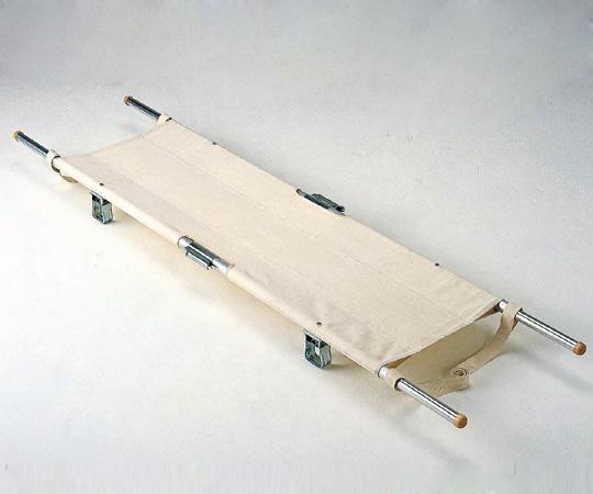 【無料健康相談付】【ナビス】四ツ折担架アルミ製 伸縮