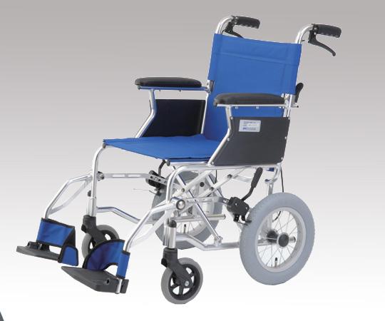 【無料健康相談 対象製品】【ナビス】介助式車椅子HTB-12-BL