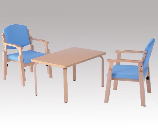【送料無料】【ナビス】 椅子AJS-150-V ブルー 【大型品】