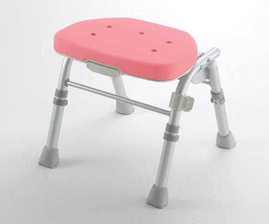 【無料健康相談付】【ナビス】折畳シャワーチェアM型背なし ピンク 【fsp2124-6m】【02P06Aug16】