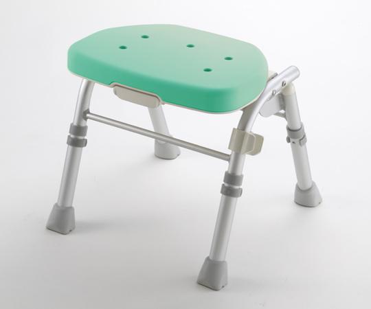 【無料健康相談付】【ナビス】折畳シャワーチェアM型背なし グリーン 【fsp2124-6m】【02P06Aug16】