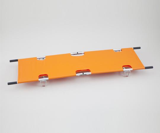 【無料健康相談 対象製品】【ナビス】四つ折担架122 オレンジ 【fsp2124-6m】【02P06Aug16】