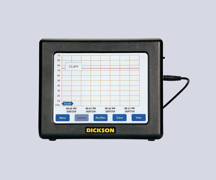 タッチパネル式温度記録計 FT-620