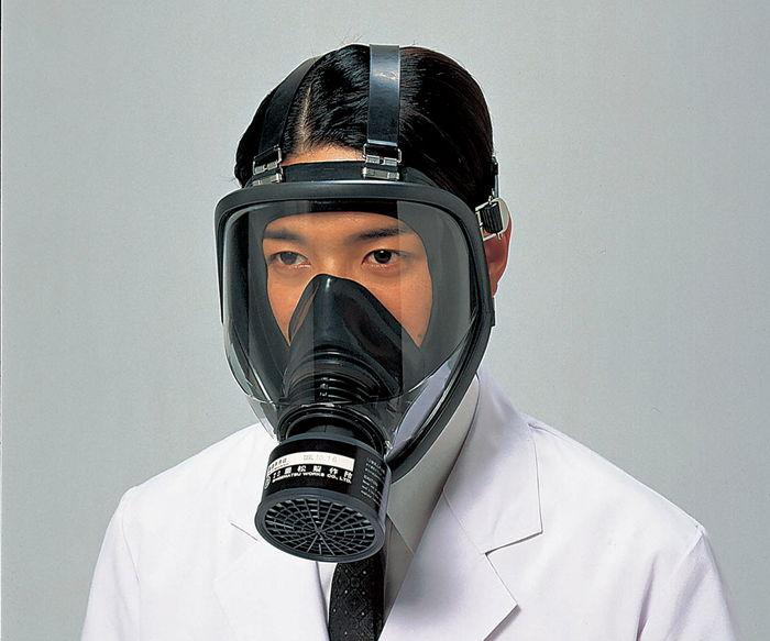 隔離式防毒マスクGM164
