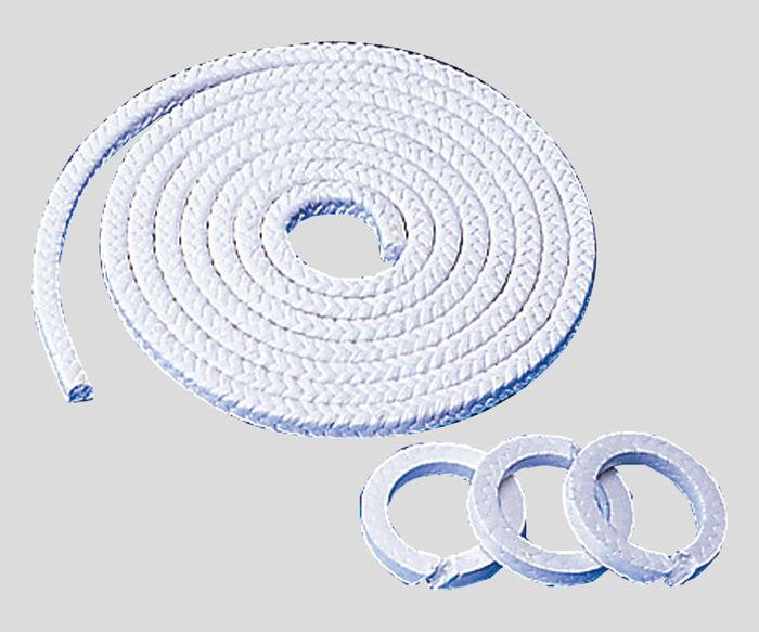 パッキン充填剤入PTFE6.5角×3M