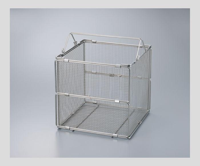 ステンレス折畳洗浄カゴFDWB-315