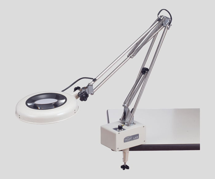 LED照明拡大鏡LEK-Fワイド型2倍