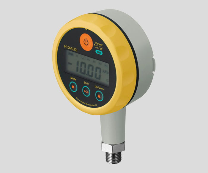 圧力計KDM30-500kPaG-MYL【02P06Aug16】