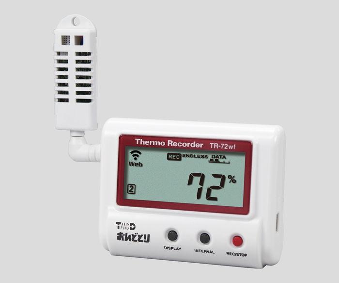 温度(湿度)記録計TR-72wf