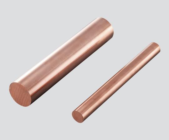 【アズワン】 銅丸棒MRCUT-φ45×1000