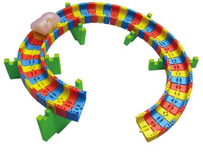 【送料無料】【無料健康相談 対象製品】磁石でリニア 【安心の知育玩具 一歩(はじめ)社製】 【fsp2124-6m】【02P06Aug16】