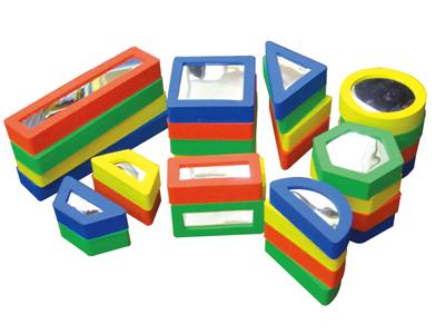 【送料無料】【無料健康相談付】ミラーブロック 【安心の知育玩具 一歩(はじめ)社製】