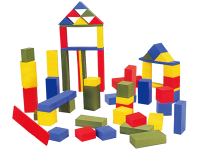 【送料無料】【無料健康相談付】色彩積み木 【安心の知育玩具 一歩(はじめ)社製】