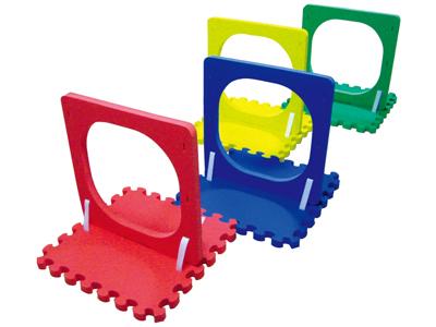【送料無料】【無料健康相談 対象製品】わくぐりトンネル 4台セット 【安心の知育玩具 一歩(はじめ)社製】